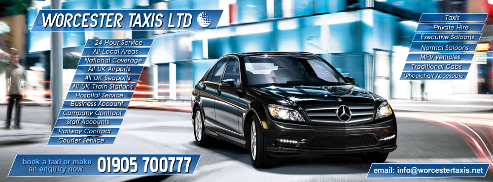 Worcester Taxi and Airport Transfer Service